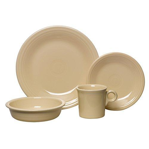 Ivory 4 Piece Dinner Place Setting Made in the USA