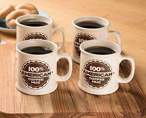 Ivory Coffee Mugs Made in the USA