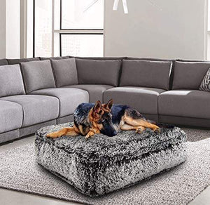 Luxury Shag Extra Plush Dog Bed Made in USA