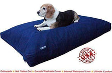 Load image into Gallery viewer, Orthopedic Comfort Memory Foam Dog Bed Made in USA