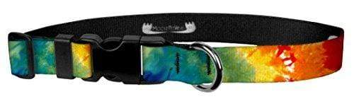 Patterned Adjustable Dog Collars Made in the USA