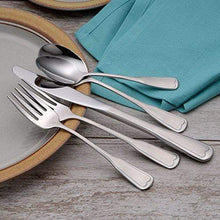Load image into Gallery viewer, Satin Richmond 45 Piece Flatware Made in the USA