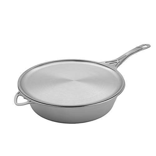 Saute Pan and Skillet Lid Crepe Pan Cookware Set Made in the USA