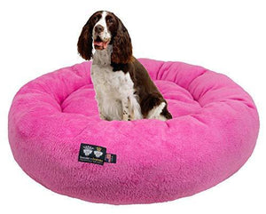 Ultra Plush Deluxe Comfort Dog and Cat Bed Made in the USA