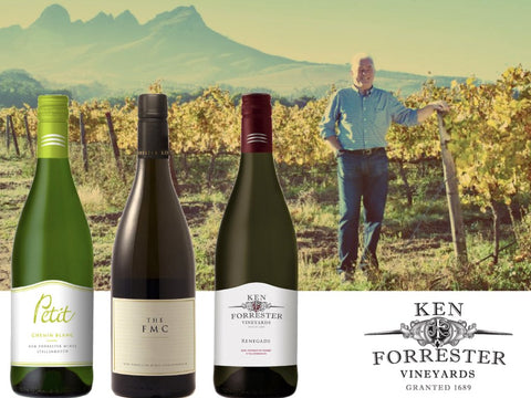 Ken Forrester Home Wine Tour and Tasting