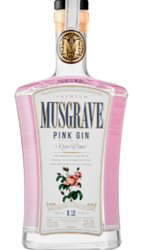 MUSGRAVE Rose Water Gin 750ml - Together Store South Africa