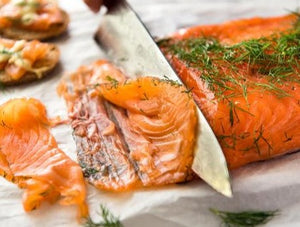 WILD PEACOCK Gravlax Norwegian Salmon Sliced (500g) - Together Store South Africa
