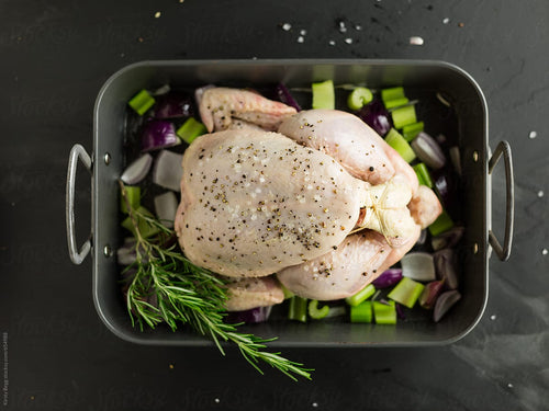 LAZENA Free Range Chicken - Deboned Whole Chicken (avg 1kg) - Together Store South Africa