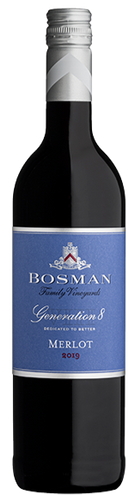 BOSMAN Generation 8 Merlot 750ml - Together Store South Africa