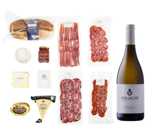Wine Paired Gourmet Cheese & Charcuterie Box - Together Store South Africa