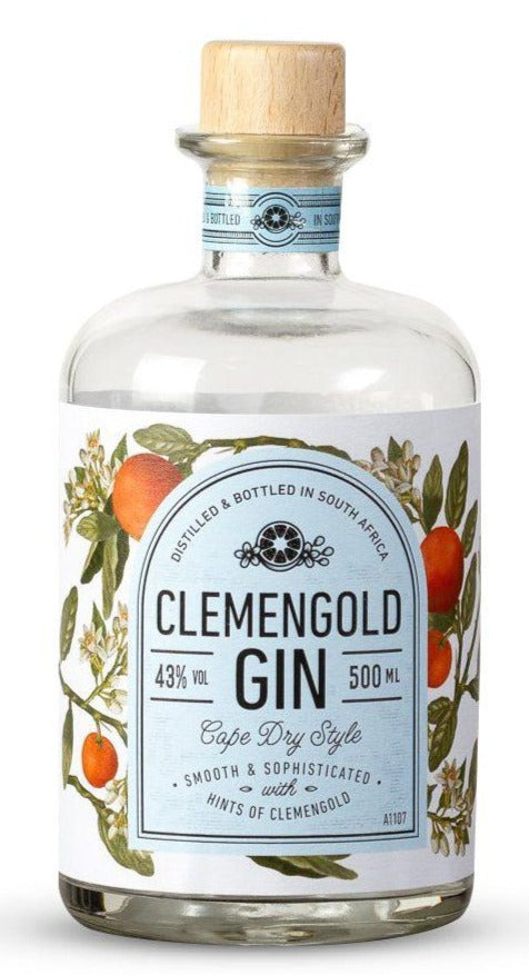 CLEMENGOLD Gin 500ml - Together Store South Africa