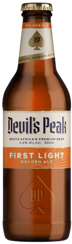 DEVIL'S PEAK First Light Golden Ale 330ml (24s) - Together Store South Africa