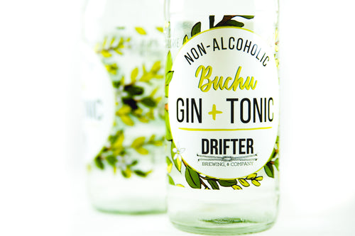 DRIFTER Non-alcoholic Buchu G&T 275ml (24s) - Together Store South Africa