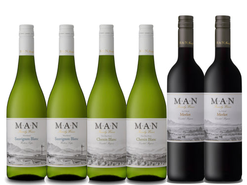 MAN Family Wines Mixed Case - R100 Saving! - Together Store South Africa