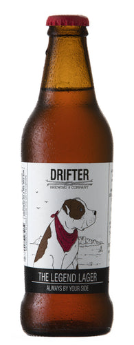 DRIFTER Legend Lager 330ml (12s) - Together Store South Africa