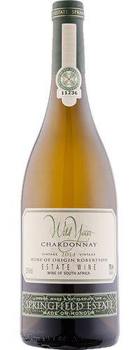 SPRINGFIELD Wild Yeast Chardonnay 750ml - Together Store South Africa