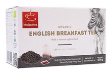 Load image into Gallery viewer, KHOISAN English Breakfast Tea Bags (20) - Together Store South Africa