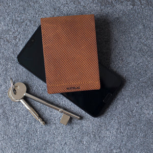 MATBLAC Leather Ltd. Pinned Tanned Billfold - Together Store South Africa