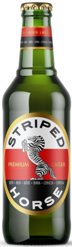 STRIPED HORSE Lager 330ml (24s) - Together Store South Africa