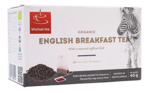 KHOISAN English Breakfast Tea Bags (20) - Together Store South Africa