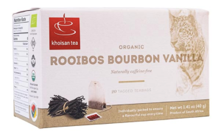 KHOISAN Rooibos Vanilla Tea Bags (20) - Together Store South Africa