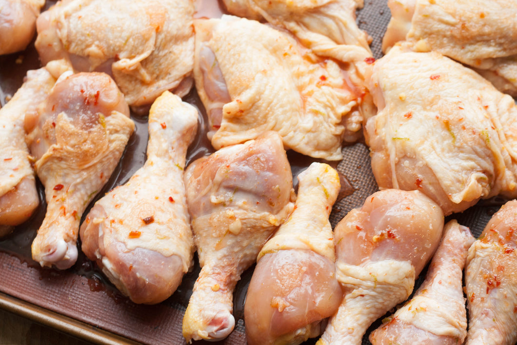 LAZENA Free Range Chicken - Drum & Thigh - 4+4/pck (avg 960g) - Together Store South Africa