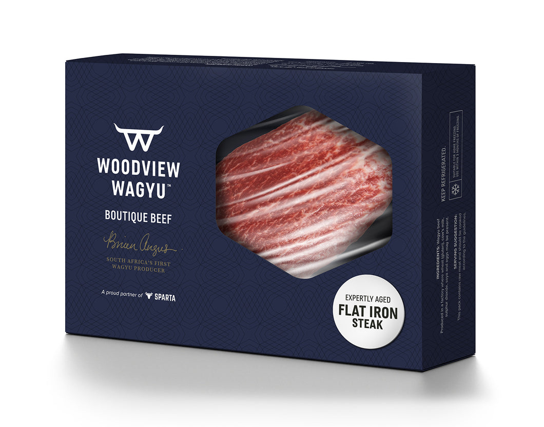 WOODVIEW Wagyu (SA) Flat Iron Steak (2 x 250g) - Together Store South Africa