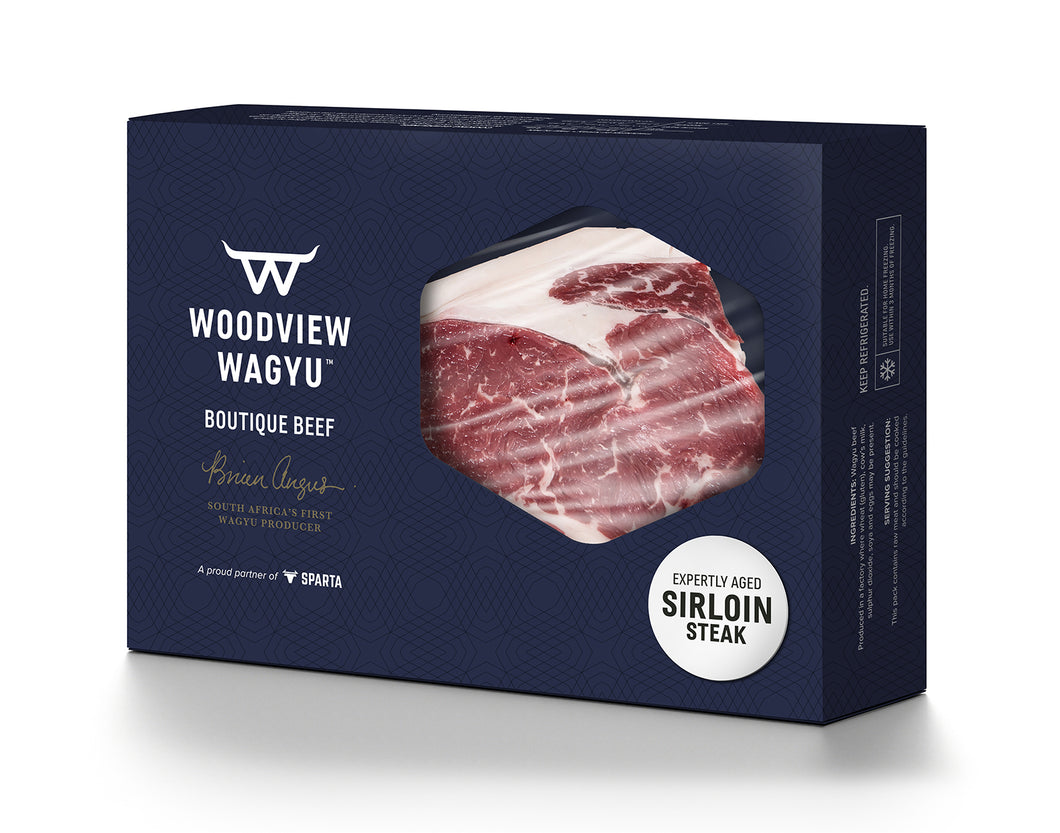 WOODVIEW Wagyu (SA) Sirloin 'Gold' [MS 5-7] (2 x 250g) - Together Store South Africa
