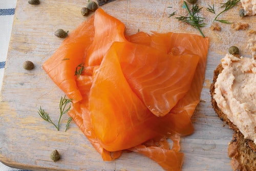 WILD PEACOCK Smoked Salmon Trout Sliced (80g, 100g & 500g) - Together Store South Africa