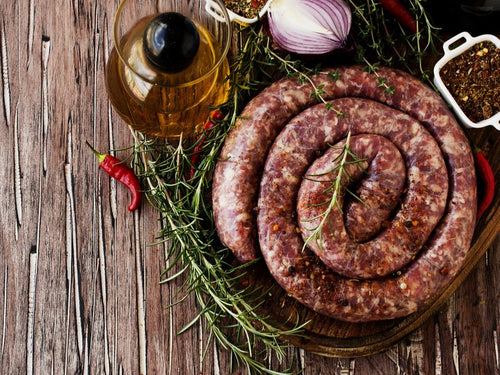 BEEF Boerewors Thick (500g) - Together Store South Africa