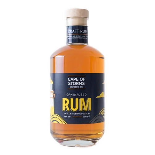 CAPE OF STORMS DISTILLING CO. Oak Infused Rum (500ml) - Together Store South Africa
