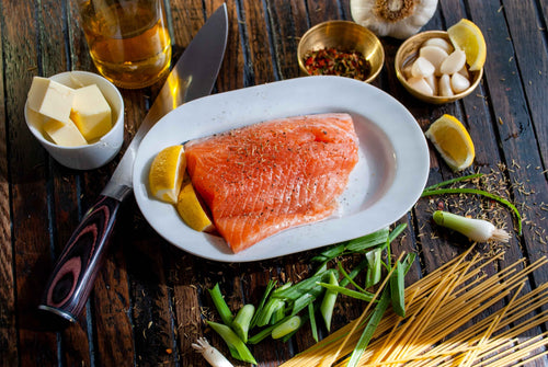 WILD PEACOCK Salmon Norwegian - 1 Frozen Fillet (avg total 1.7kg) - Together Store South Africa