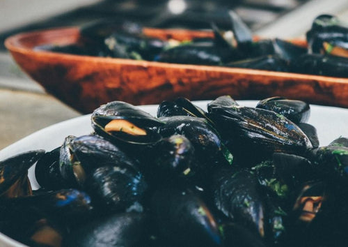 BLUE OCEAN Mussels - Frozen Half Shell (800g) - Together Store South Africa