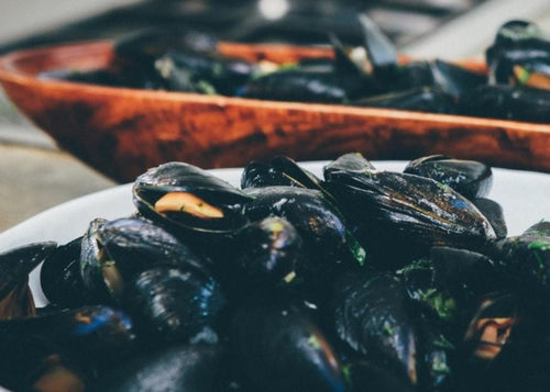 BLUE OCEAN Mussels - Frozen Full Shell (800g) - Together Store South Africa