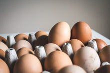 Load image into Gallery viewer, WILD PEACOCK Free Range Chicken Eggs - Organic - 36/box - Together Store South Africa