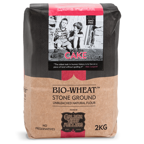 BIO-WHEAT - Cake Flour (2kg) - Together Store South Africa
