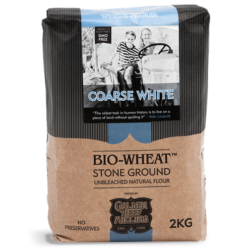 BIO-WHEAT - White Coarse Flour (2kg) - Together Store South Africa