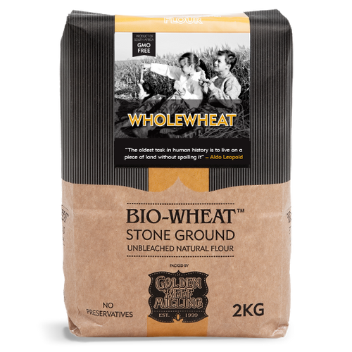 BIO-WHEAT - Wholegrain Flour (2kg) - Together Store South Africa