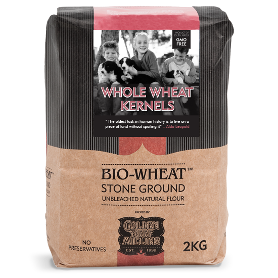 BIO-WHEAT - Whole Wheat Berries (2kg) - Together Store South Africa