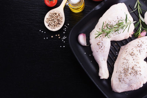 LAZENA Free Range Chicken - Leg Quarters - 3/pck (avg 670g) - Together Store South Africa