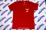 HONDA Z50 MONKEY x UNIQLO T-shirt Brand new size:M color:red Free Economy shipping for AISA, US, AUS, CAN, UK, EURO!