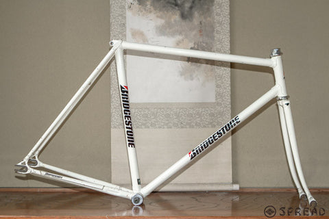 BRIDGESTONE track frame NJS approved size:540 made in 1997