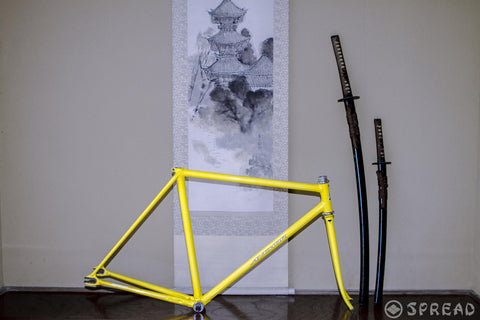 BRIDGESTONE Anchor track frame NJS approved size:510, made in 1993
