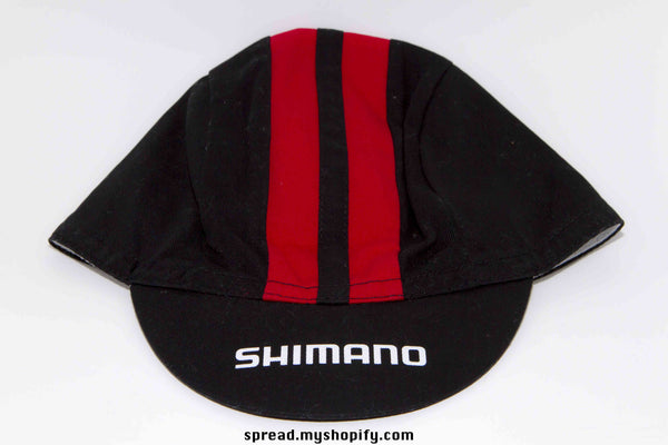 Shimano cycle cap black and red, brand new, Free Economy shipping for AISA, US, AUS, CAN, UK, EURO!