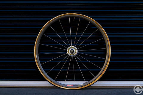 24inch front wheel of SUNTOUR superbe pro Hi-flange and ARAYA ADX-1 aero1 20h