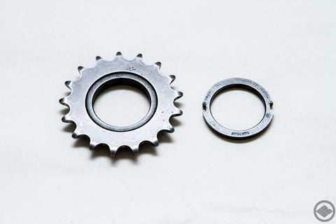 SUNTOUR(MAEDA INDUSTRIES) superbe pro NJS 17T cog and lockring NJS approved