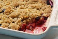 Blueberry Strawberry Cobbler