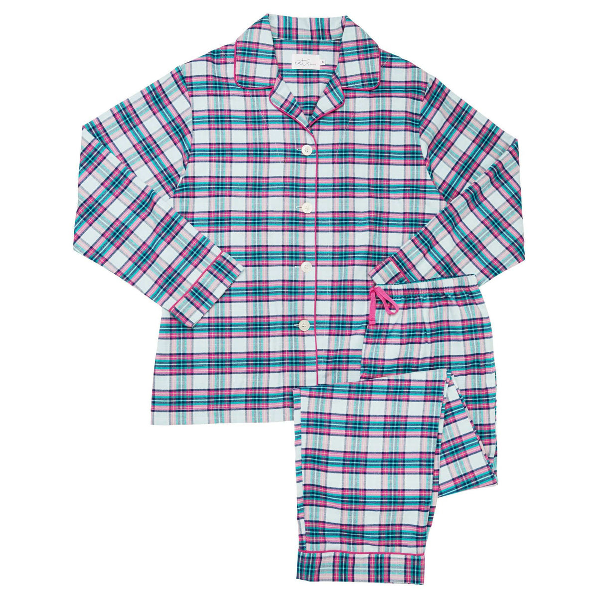 Brooklawn Flannel Pajamatest