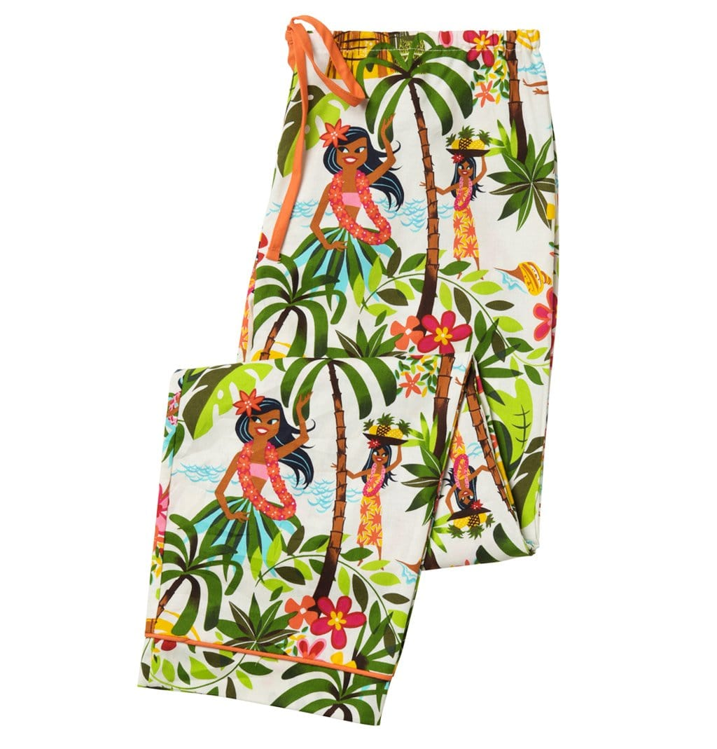 Happy Hula Girls Women's Panttest