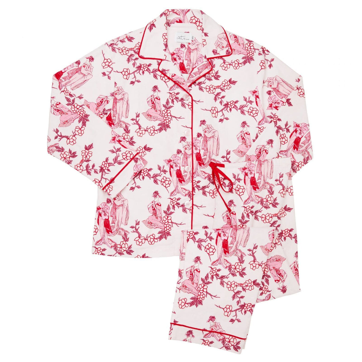 Geisha Flannel Pajamatest